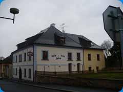 Valbový krov střechy s námětky - Klatovy centrum