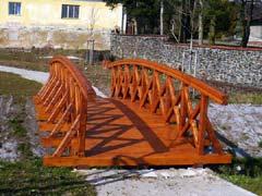 Most v zámecké zahradě Obytce (Klatovy)
